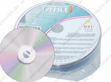 10x (1x10 Pack) Office 4.7GB 120 MIN. DVD+RW Rohling 4x / DVD