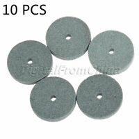 10pcs 20mm Grinding Wheel Polishing Mounted Stone For Bench Grinder Rotary Tool
