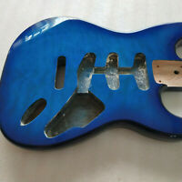 New Blue guitar body golss finished alder guitar body for ST style