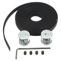 3m GT2 Timing Belt 2x Timing Pulley 16T Bore5mm 3D Printer For RepRap Prusa O1W1