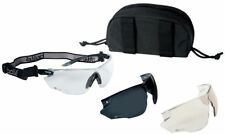 Bolle Combat Tactical Safety Glasses Kit with Clear Anti-Fog, ESP & Smoke Lens