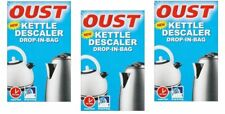 3 x OUST KETTLE DESCALER DROP IN BAG. SUPERFAST!!! JUST 10 MINUTES.