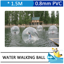 Inflatable Water Walking Ball Zorb Ball Water Ball PVC 1.5M Diameter Roll Ball
