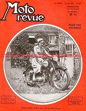 MOTO REVUE  987 JAWA 250 350 ; Naissance du Cyclomoteur 1950