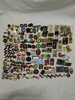 Huge Collectible Mix Lot 150+ Pins Pinback Buttons Olympic Superbowl Sports Rare