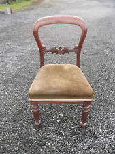 Vintage Balloon Back Dining Chair (2)