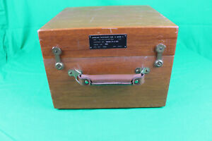 Vintage Scientific instruments U.S. Navy Mark 3 Mod 1 Sextant COMPLETE   **RARE*