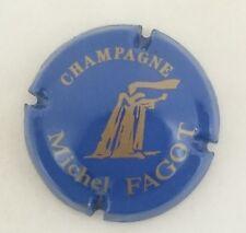 capsule champagne FAGOT michel n°5 bleu et or