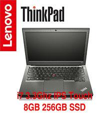 NEW ThinkPad X240 i7 3.3GHz IPS Touch 8GB 256GB SSD AC W10P OS+TPP Warranty X270