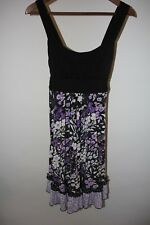 Maurices Dress Size Small Floral Summer Spring Sleeveless Slinky Dress w Stretch