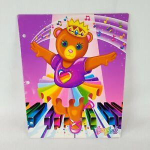 Lisa Frank Ballerina portfolio folder vintage used