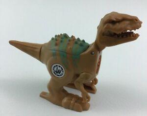 Jurassic World Brawlasaurs Velociraptor Dinosaur Toy Figure Wind up Hasbro 2014