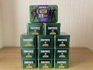 1 x Fortnite Series 1 Panini Mega Box Collectors Tin 6 Packs 1 Bonus Epic Card