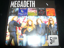 Megadeth (Australia) 5 Album CD Set Rust In Peace / Risk / Youthanasia / Countdo