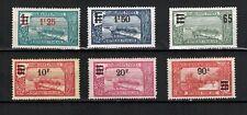 1924-27_Guadeloupe_Colonies_Série Timbres neufs_Yvert. entre le 90 et 98