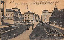 b2047 arad scoala superioara de comert si parcul   romania