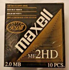 "Maxell 10 Black Discs 3.5"" Ds Hd 144Tp1"