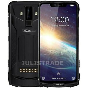 """DOOGEE S90 PRO RUGGED 6gb 128gb Waterproof 16mp Face Id 6.18"""" Android LTE Black"""