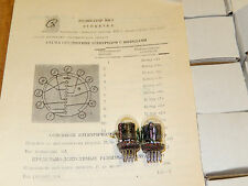 100pcs IN-2 IN2 IN 2 NIXIE DISPLAY TUBES! NOS! NIB!TESTED 100%! OTK! SAME DATE!