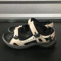 Womens ECCO Yucatan Gold Sport Sandals Size 36 (US 5-5.5)