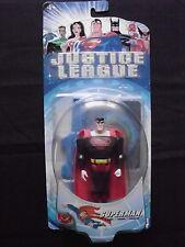 Justice League - Superman (Black Costume) Action Figure - Mattel 2003
