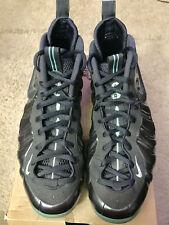 2014  Nike Air Foamposite PRO Aqua Dark Obsidian 624041-402 Size 12