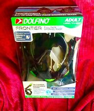 Dolfino Frontier All-in-one Full Face Snorkel Mask Adult Large/X-large W GoPro