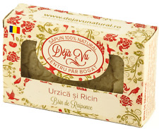 100% Natural Handmade Soap with Nettle and Castor oil (for rich hair)