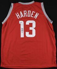 James Harden Signed Houston Rockets Jersey Beckett Witnessed