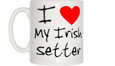 I Love Heart My Irish Setter Mug