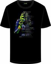 """VR46 Shirt """"Velocita"""" Valentino Rossi T-Shirt in Schwarz-Dekor, Größe M - 50"""