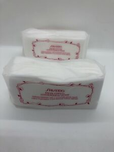 2/ Shiseido Facial 100% Cotton Pads 40 Sheets Each one Authentic New.