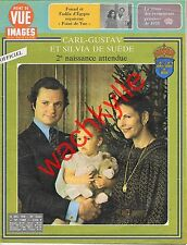 Point de vue n°1588 du 29/12/1978 Carl-Gustav Silvia de Suède Laurent-Perrier