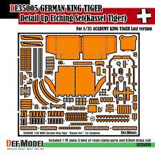 DEF Model 1/35 German King Tiger (Kassel Version) Detail Set for Academy #13229