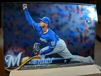 2018 Topps Chrome Update Baseball #HMT93 Freddy Peralta RC Milwaukee Brewers