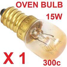 1 X HEAVY DUTY 300c OVEN COOKER APPLIANCE 15w Bulb Lamp SES E14 Light Bulbs 240V