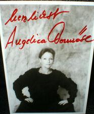 Angelica Domröse (2), Autogramm, original signiert!