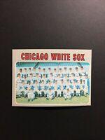 1970 Topps Set Break #501 Chicago White Sox Team Card #501 - NM/MT From Vending