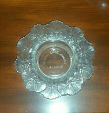 LALIQUE CRYSTAL LINZ JEWELERS DISH