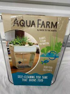 WATER GARDEN AQUA FARM BACK TO THE ROOTS Self Cleaning Fish Tank Aquarium