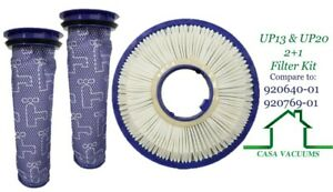 HEPA Post + 2 Pre  Replacement Filters For Dyson UP13 UP20 Animal Vacuum Cleaner