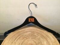 HTF WE WILL ROCK YOU CLOTHES HANGER BLACK FROM THE QUEEN MUSICAL THEATER SHOW