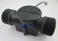 "G1-1/4"" 1.25 Water Flow Hall Sensor Switch Meter Flowmeter Counter 1-120L/min"