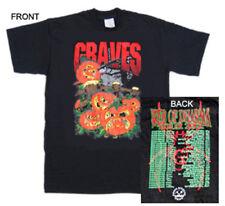 GRAVES,01'Tour t-shirt,dr.chud,x-ward,michale graves,misfits,grave diggers union