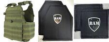 Level IIIA 3A | Body Armor Inserts | Bullet Proof Vest | MOPC OD Vest -10x12 6x6