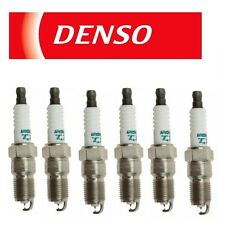 6 OEM Denso Iridium TT Spark Plugs IT16TT / 4713 Made in Japan Set of 6
