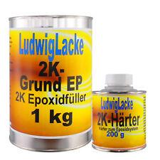 Epoxid  1,2 kg EP  Grundierung Füller für Autolack Werkstatt  &Versand
