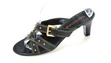 Mittelhoch Schnalle Top Mode Pumps 34-39 Eckig Blockabsatz Damenschuhe Sandalen