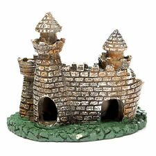 Artificial Aquarium Fish Tank Ornament Castle Tower House Cave Craft DIY Decor