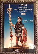 Figurino 54mm ROMAN SIGNIFER, LEGIO XIII Gemina MARTIA Victrix. - SOLDIERS